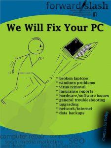 fix repair laptop darwin